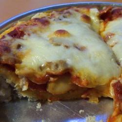 1-Dish Pepperoni Cheese Pizza Bake