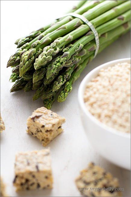 8 Minute Asparagus Couscous Soup - Quick and Easy