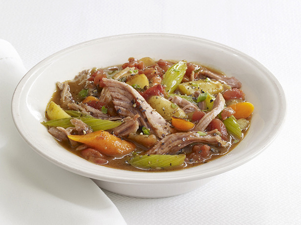 A Taste of Fall Crock Pot Pork Stew