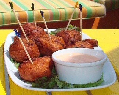 Abaco Conch Fritters