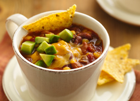 Alamo Beef and Bean Soup