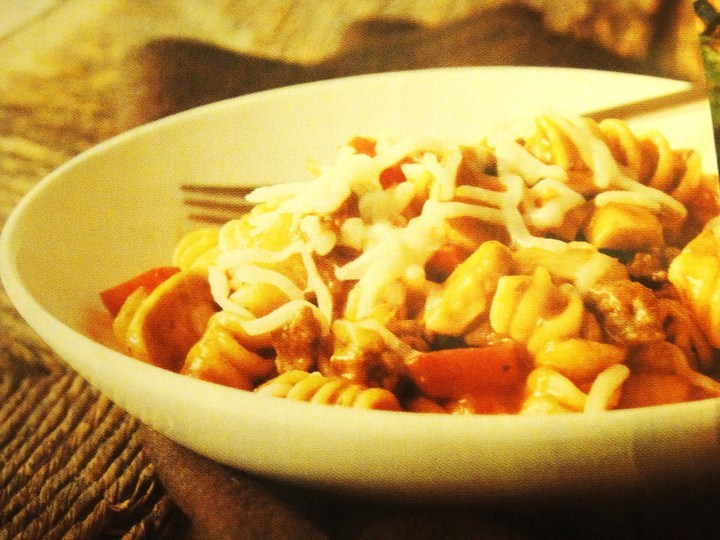 All-in-One Pot Saucy Pasta