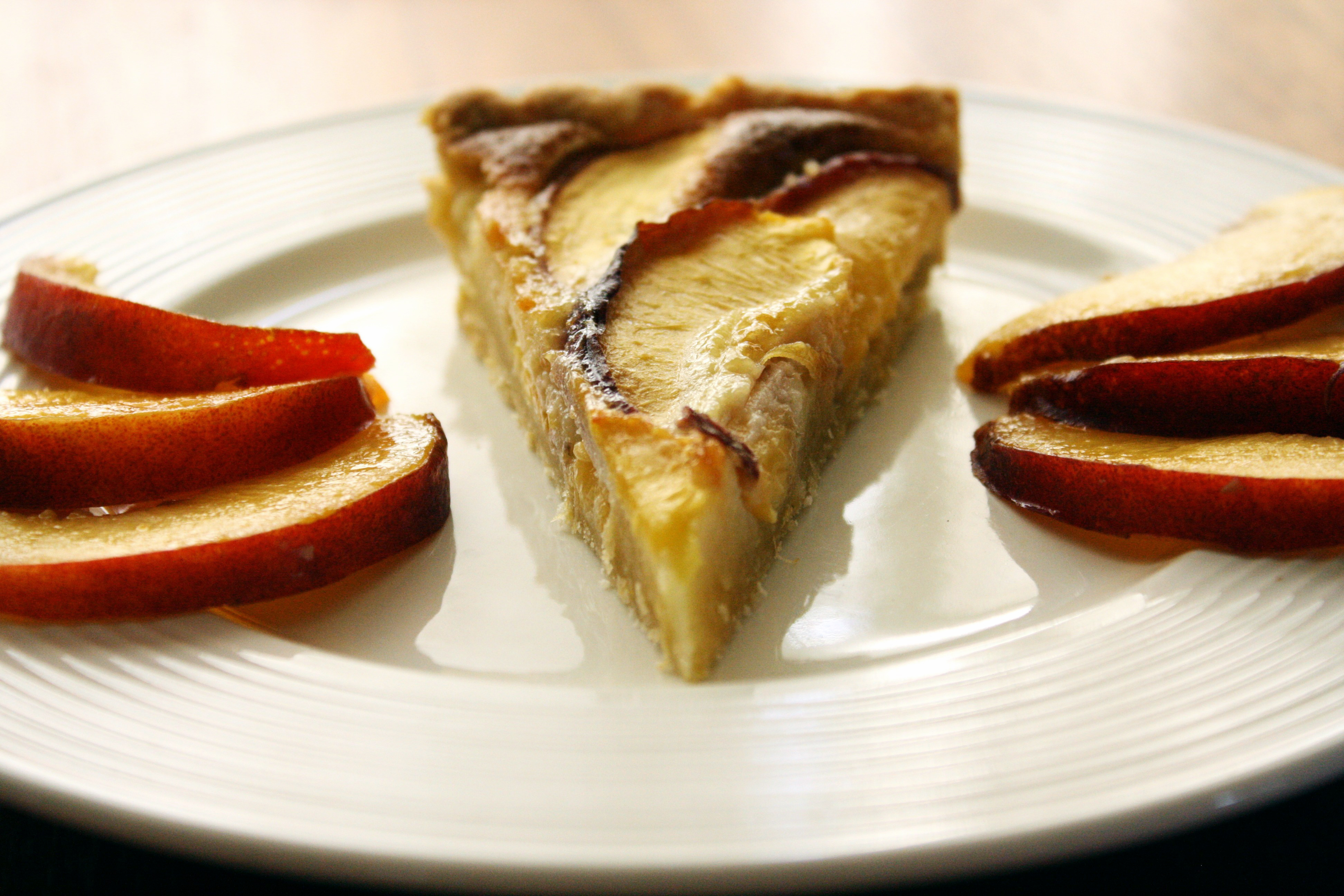 Almond Flan With Summer Fruit