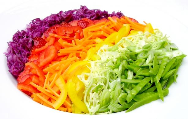 Almost Rainbow Salad