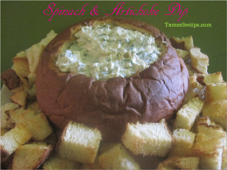 Amazing Artichoke and Spinach Dip