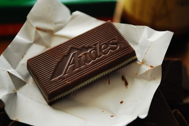 Andes Candies Chocolate Mint Cheesecake