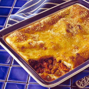 Anytime Pizza Casserole