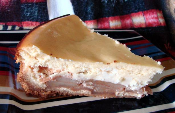Apple Cardamom Cheesecake