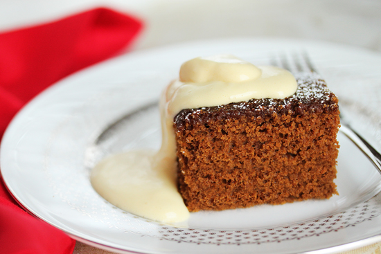 Apple Cider Gingerbread
