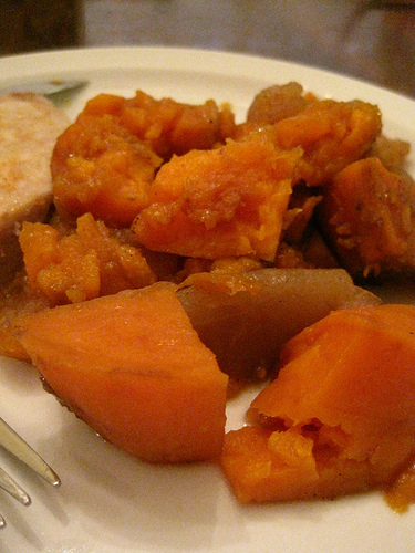 Apple Spiced Sweet Potatoes