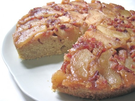 Apple Wedge Maple Syrup Upside Down Cake
