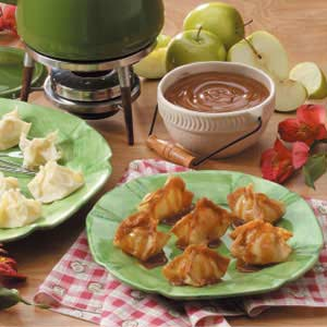 Apple Wonton Bundles