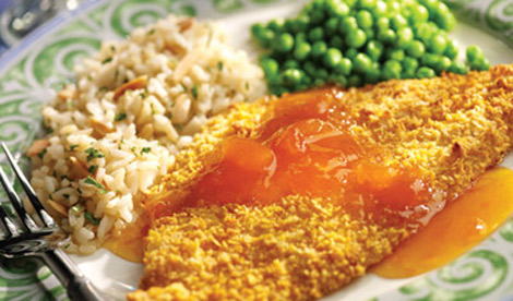 Apricot Lemon Sole