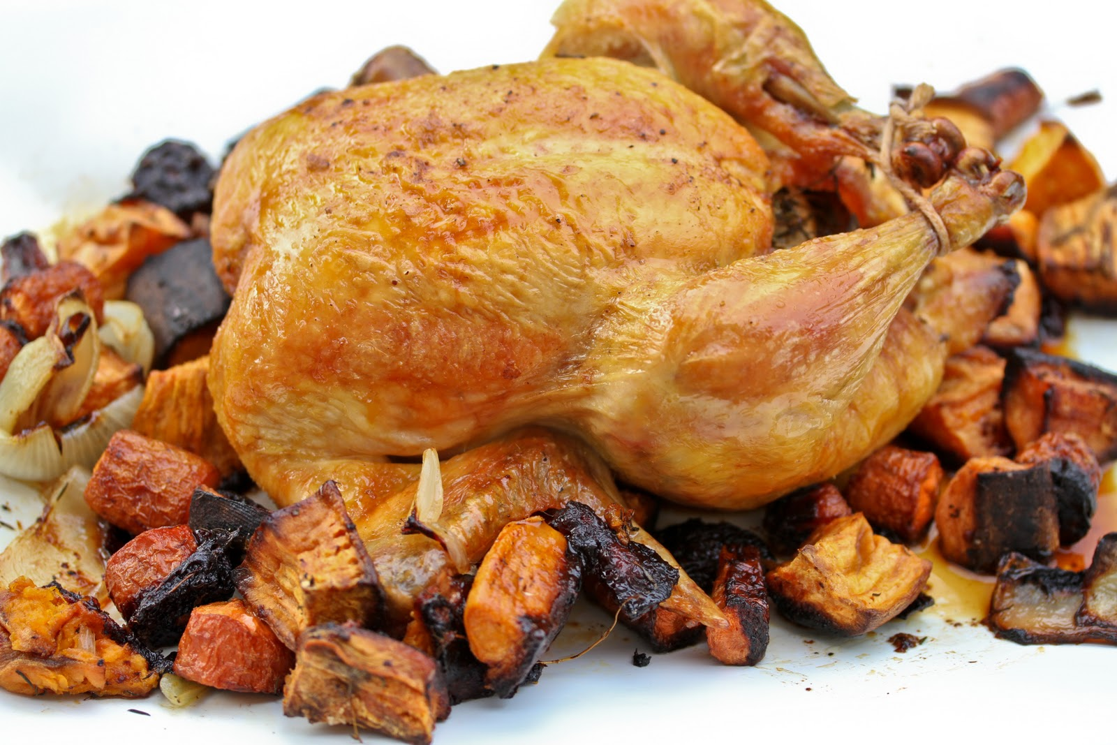 Asian Citrus Roasted Chicken and Veggies