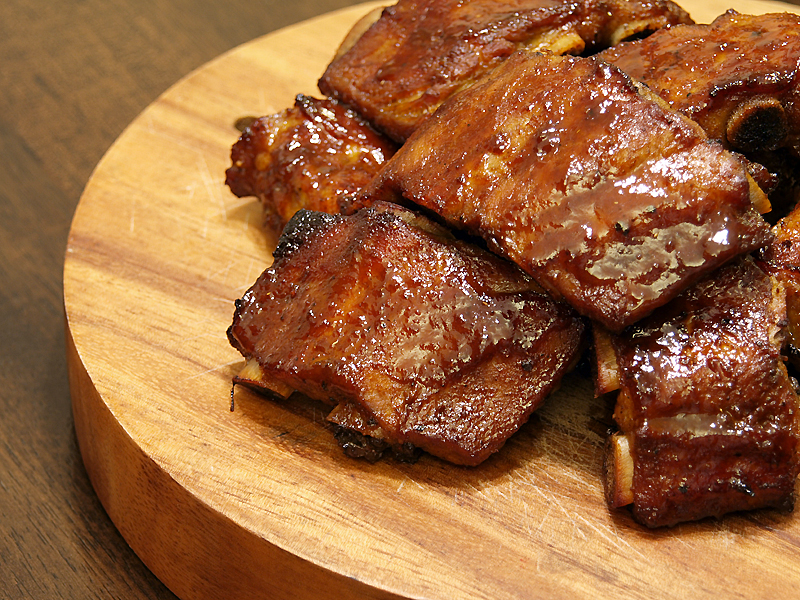 Asian Hoisin Pork Ribs