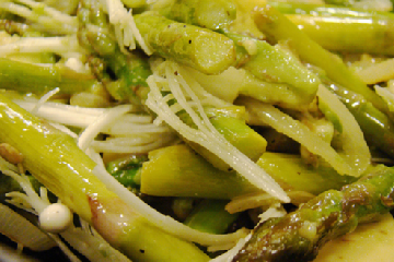 Asparagus Salad with Balsamic Vinegar