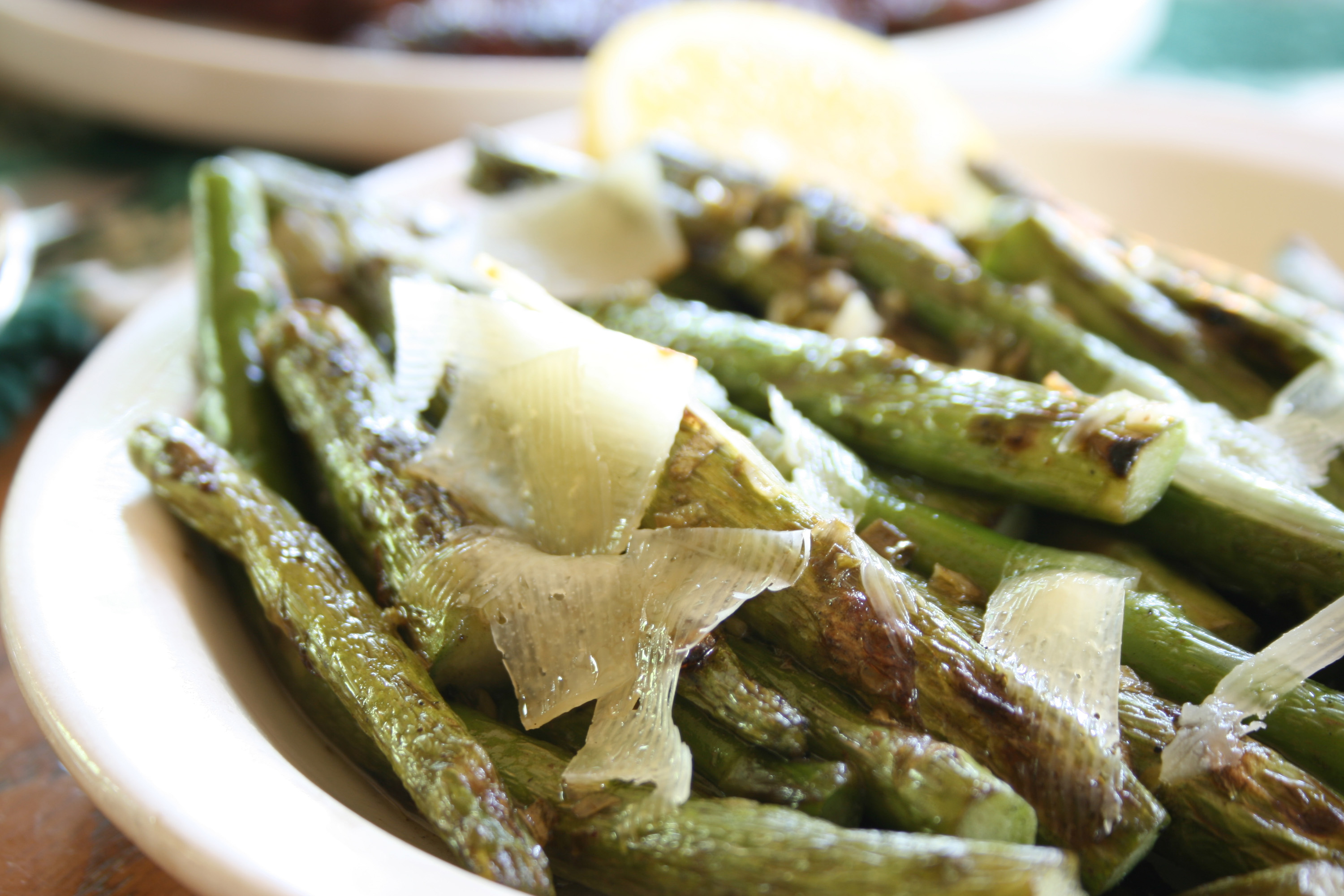Asparagus with Olive Oil & Herbs