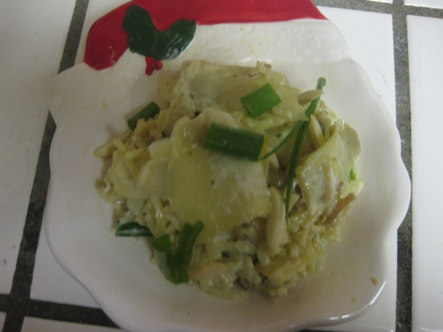 Aunt Rose's Rice Artichoke Salad