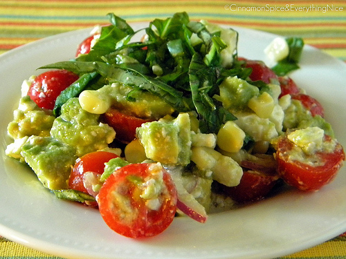 Avocado Feta Salsa - Recipegreat.com