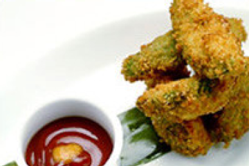 Avocado Fries With Chipotle Ketchup