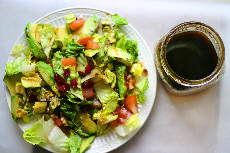 Avocado With Balsamic Dressing
