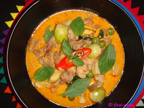 Awesome Thai chicken coconut curry
