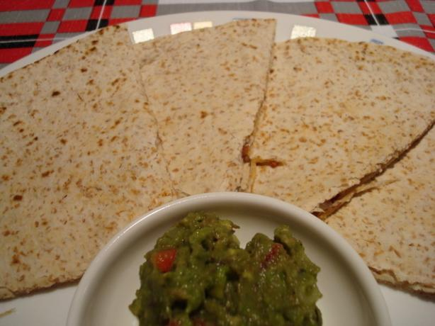 Bacon and Cheese Quesadillas for Two