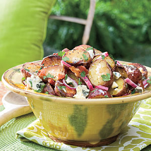 Bacon Blue Cheese Potato Salad