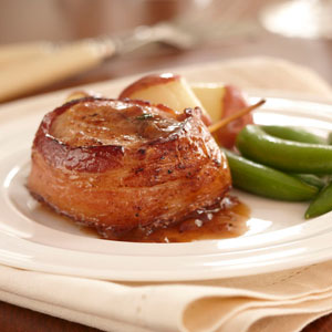 Nutritional Information of Bacon Wrapped Pork Medallions: