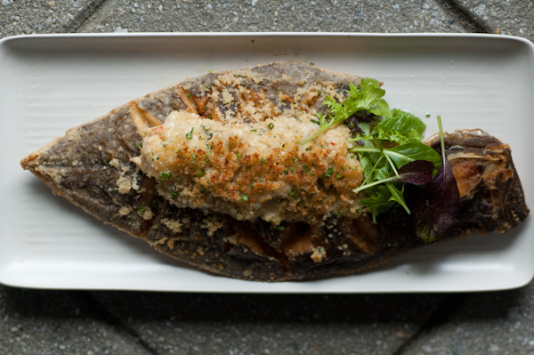 Baked Flounder and Crab Mornay