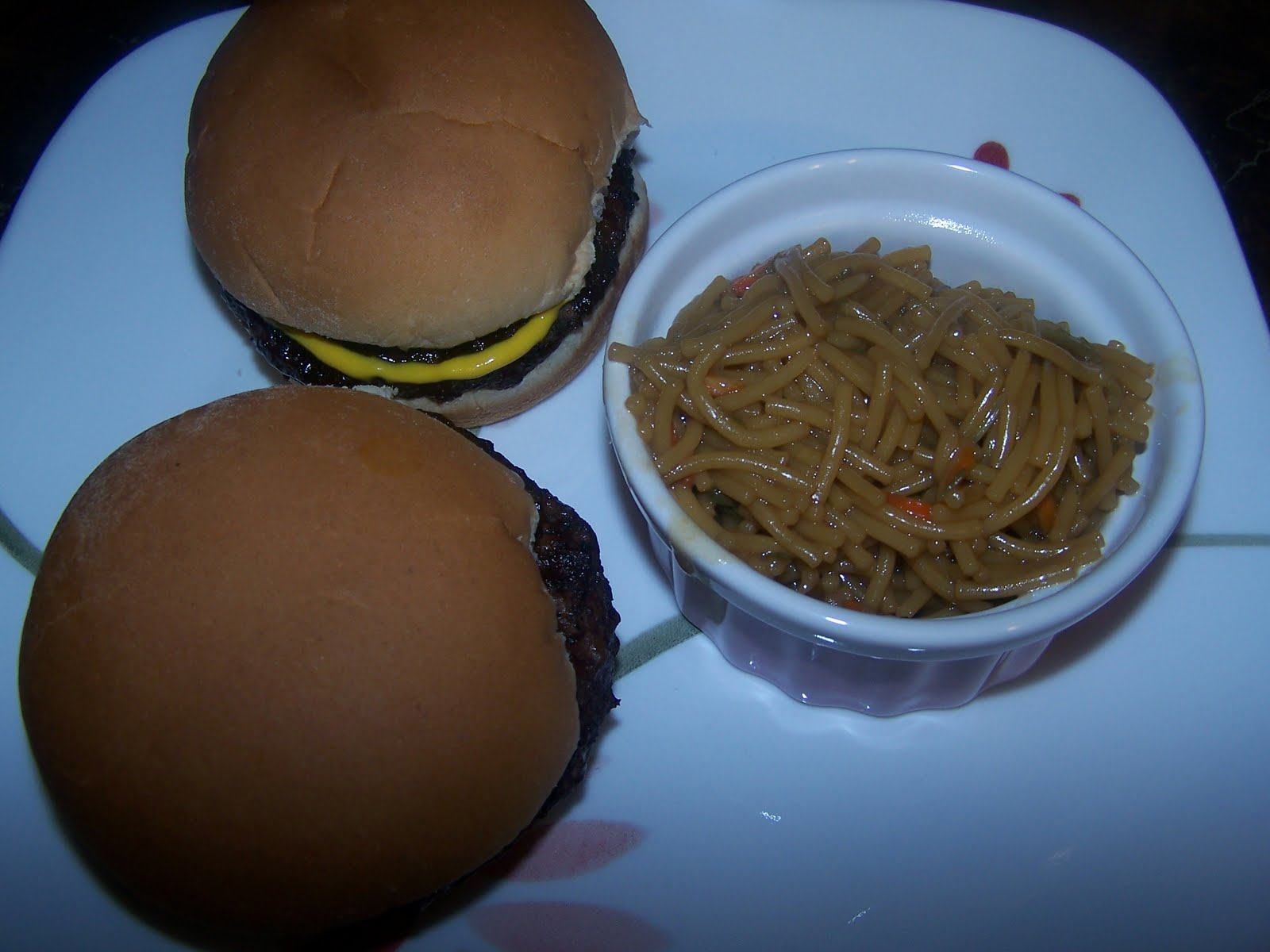 Baked Hamburgers---and no dishes to clean