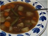 Bam's Beefy Cabbage Vegetable Soup