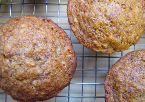 Banana Maple Pecan Bread Muffins (Gluten-Free)
