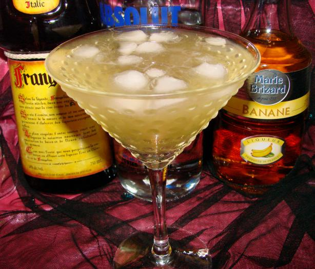 Banana Nut Martini