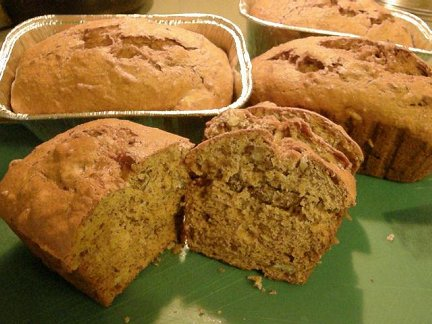 Banana Nut Pineapple Bread