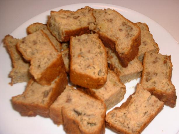 Banana-Pineapple Nut Bread (Healthy)