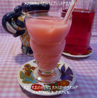 Bandung (rose Syrup With Milk)
