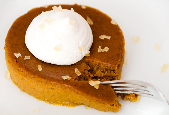 Basic Crustless Pumpkin Pie