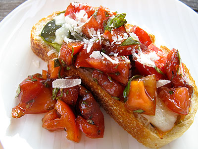 Basically the Best Bruschetta Ever