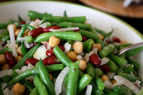 Bean And Onion Salad