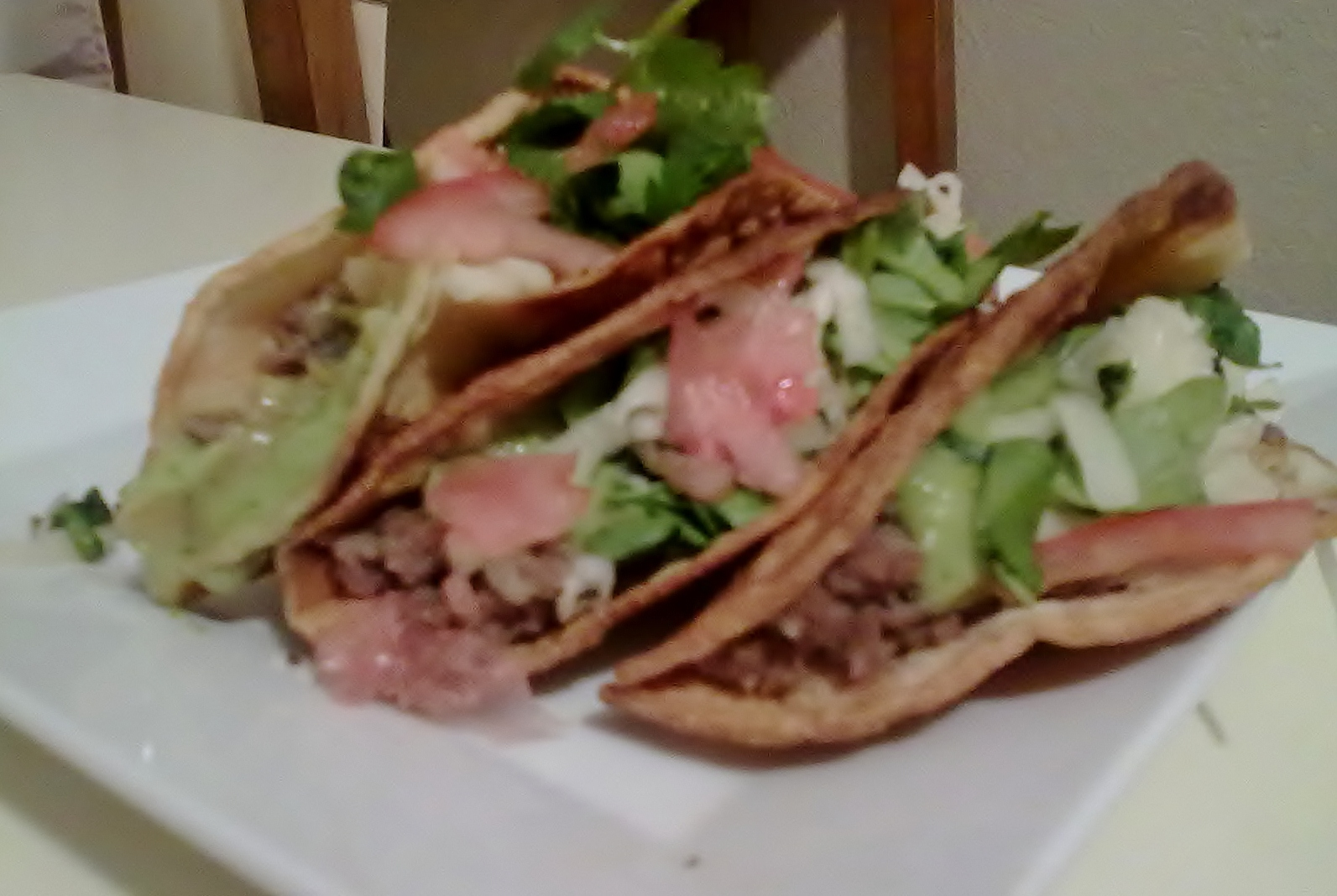 Beef and Potato Tacos