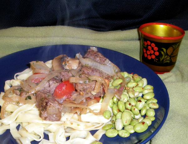 Beef Stroganoff: Easy and Natural