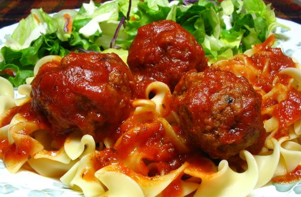 Beer-Braised Meatballs