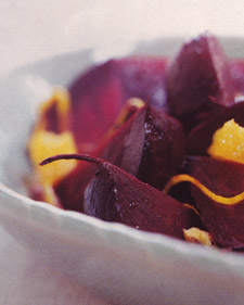 Beets With Orange and Ginger