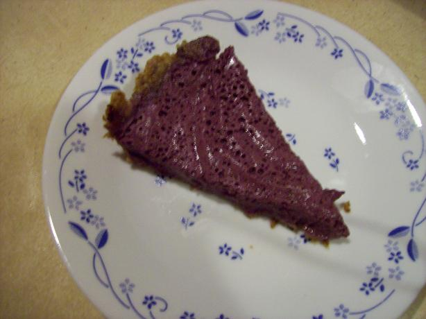 Berry Frost Pie (Raw Food)