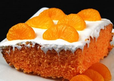 Best Orange Creamsicle Cake