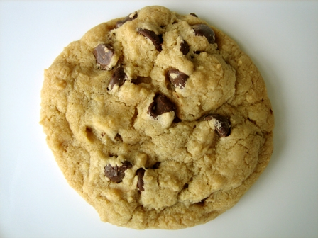 Big Thick Chocolate Chip Cookies