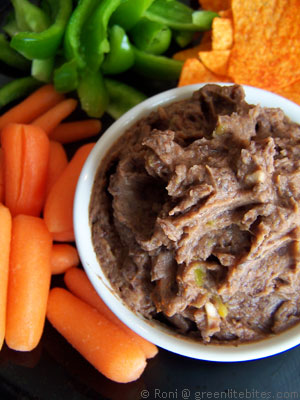 Black Bean Spicy Dip
