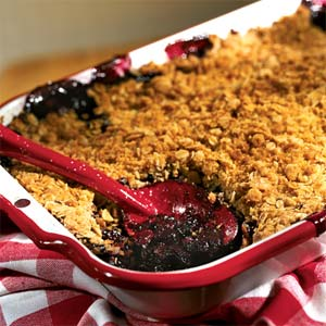 Blueberry Crisp II