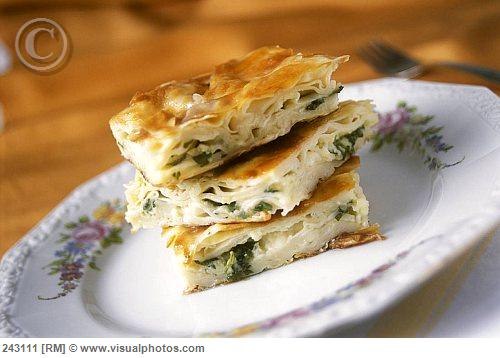 Borek With Cheese & Spinach